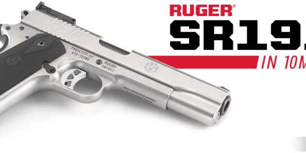 Ruger SR1911 now in 10MM